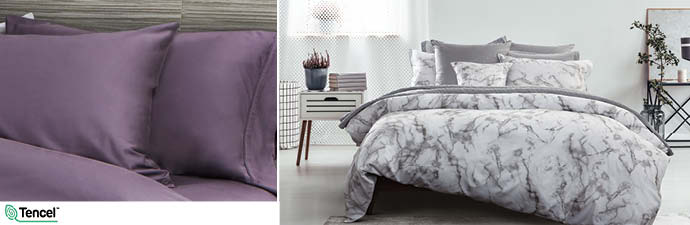 Merano Bedding Collection With Wisteria Sheets