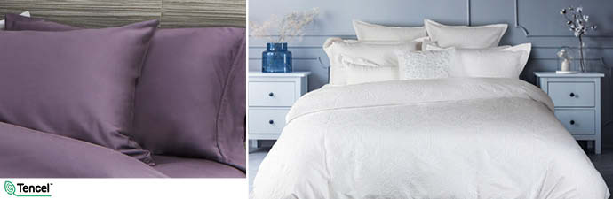 Astoria Bedding Collection With Wisteria Sheets